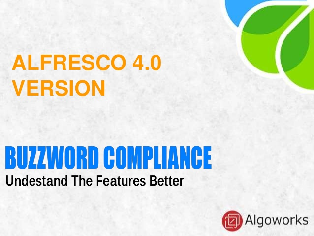 Alfresco 4.0 – A Complete Introduction