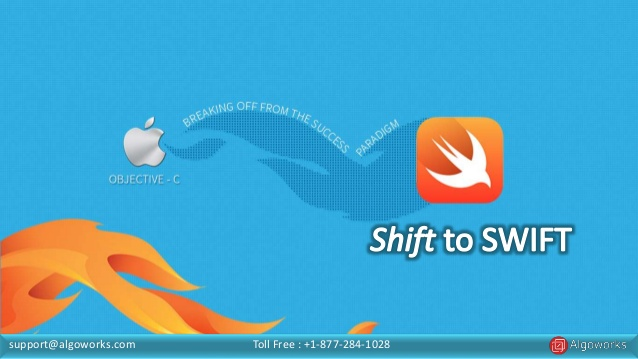 Shift to SWIFT: An Unusual Journey From Objective C