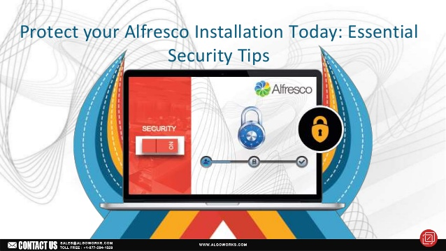 Protect Your Alfresco Installation Today: Essential Security Tips