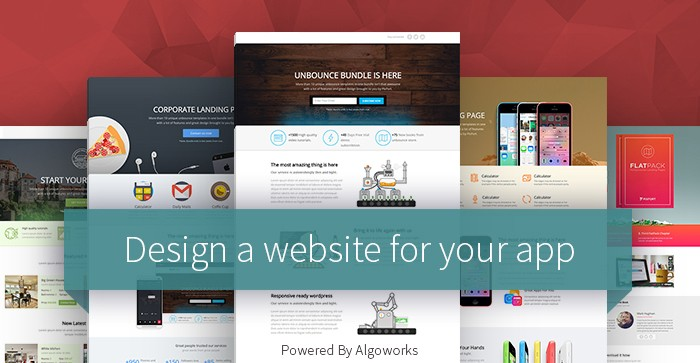 How to Design a Website for Your App and How to Promote It