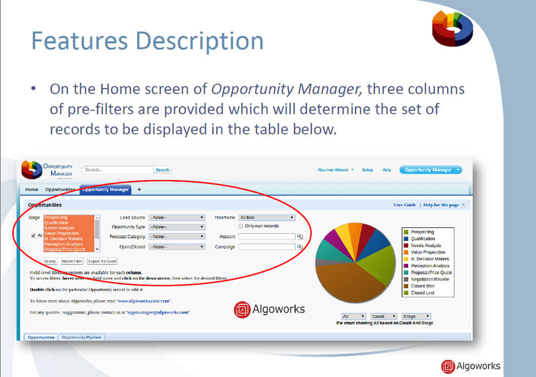 Opportunity Manager App