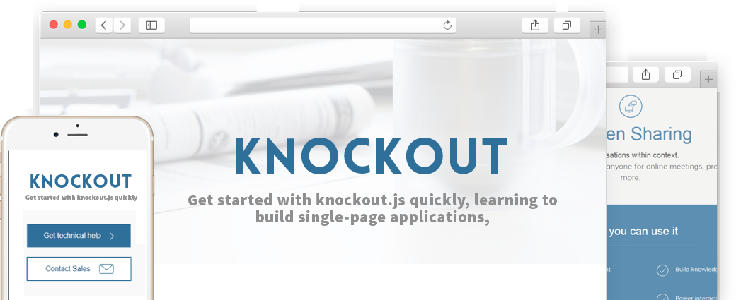 Hire KnockoutJS Specialists