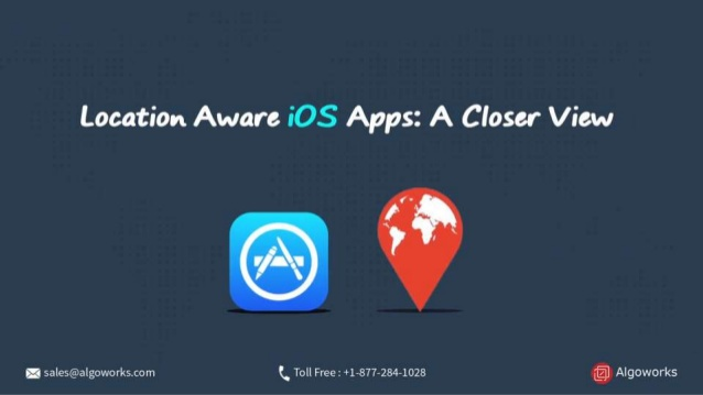 Location Aware iOS Apps : A Closer View