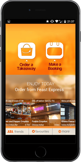 Food Ordering Mobile App for Android