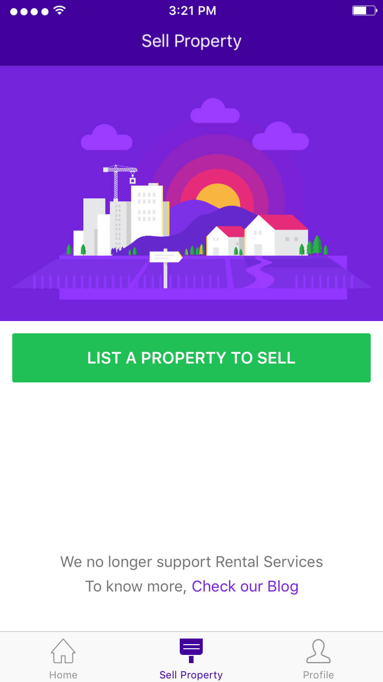 GPS enambled Real Estate Mobile Application