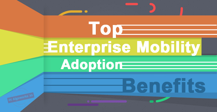 Top Enterprise Mobility Adoption Benefits | An Infographic