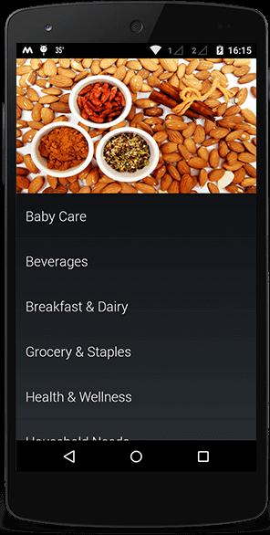 hyperlocal shopping application