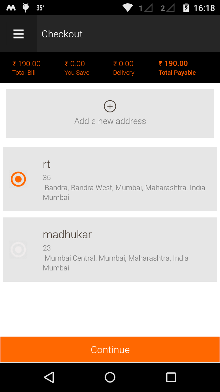 Location Based Mobile Shopping Application for Android