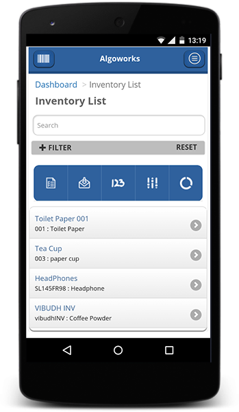 ios application for facility management