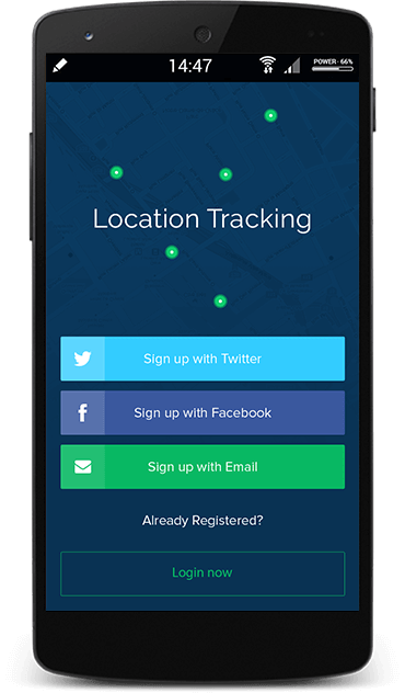 track the location of your personnel with mobile app