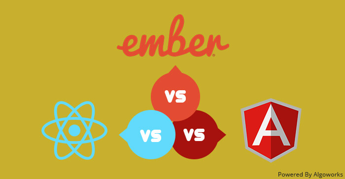 Choosing Right Javascript Development Framework: AngularJS vs React vs Ember