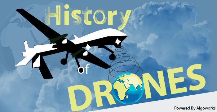 History of Drones | An Infographic