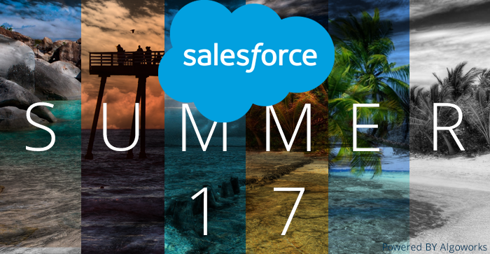 Salesforce® Summer'17 To Raise The Temperature This Season!