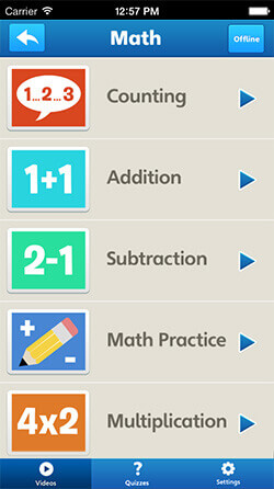 Educational App for Kids