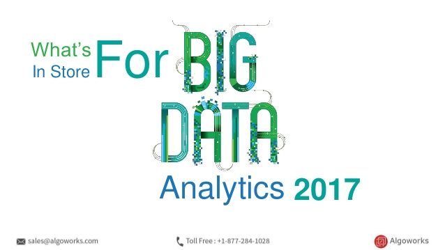 What's In Store For Big Data Analytics In 2017
