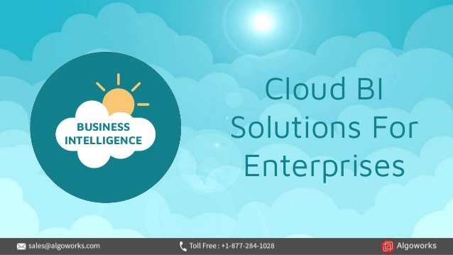 Cloud Business Intelligence Solutions For Enterprises