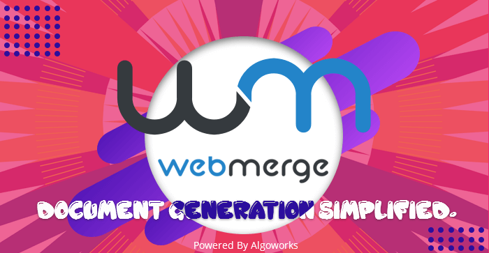 WebMerge – Document Generation Simplified | An Infographic