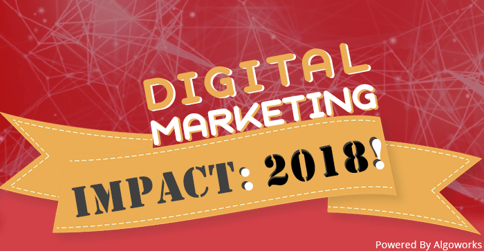 Digital Marketing Impact 2018 | An Infographic