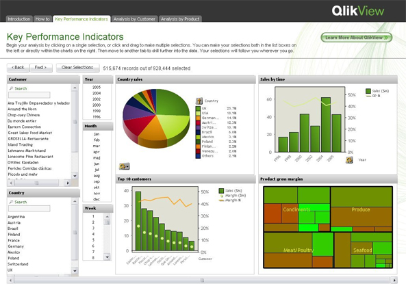 QlikView and QlikSense Development Services
