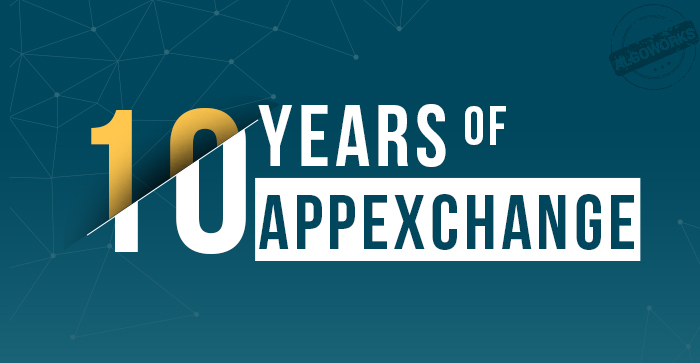 10 Years Of Salesforce AppExchange | An Infographic