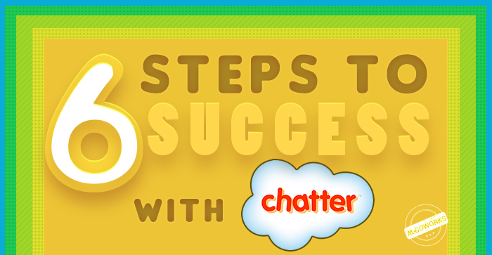 Six Steps To Success With Salesforce Chatter | An Infographic