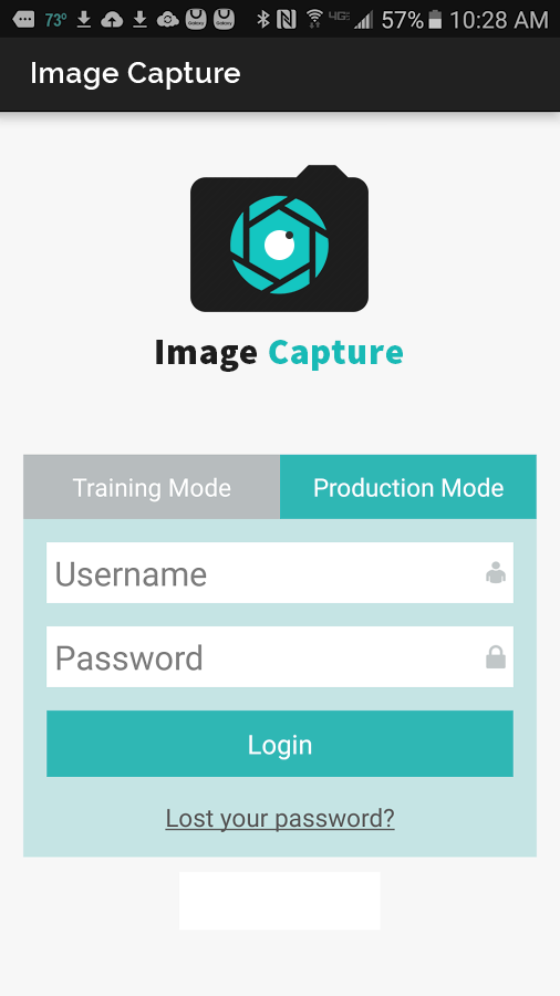 Image Capture Application for iOS & Android