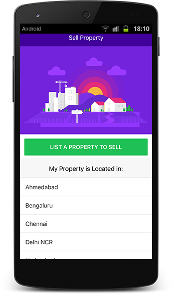 Abode Search Application