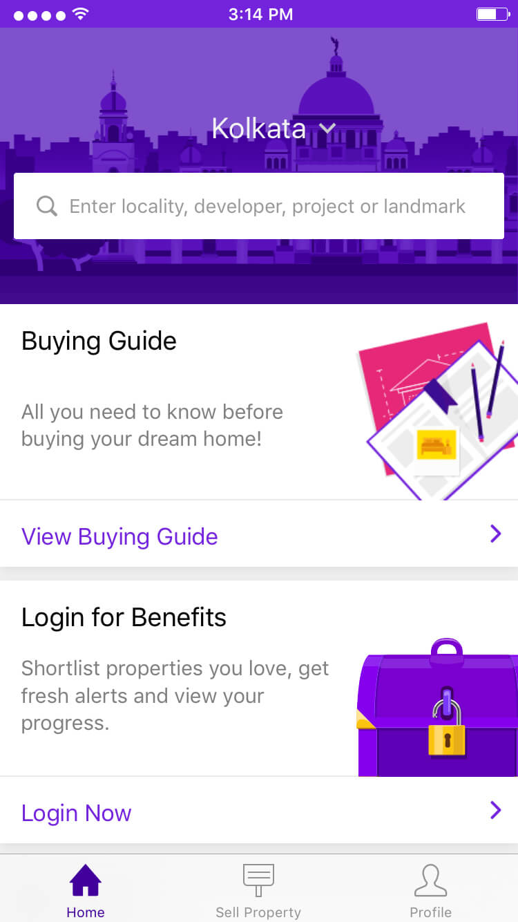 Real Estate Mobile Application