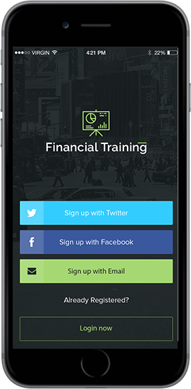 trading learning mobile app for android