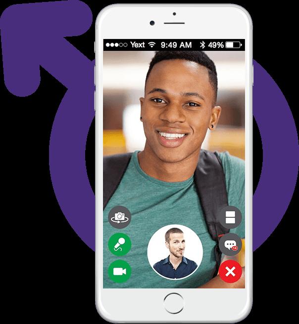 webrtc chatting app