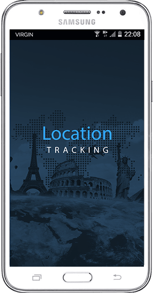 Mobile application for tracking your location