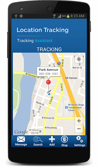 location tracking app for ios