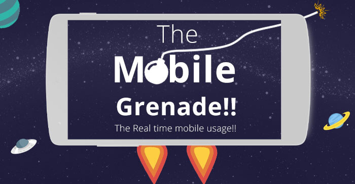 The Mobile Grenade | An Infographic