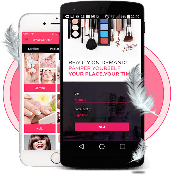 Beauty Mobile Application Development