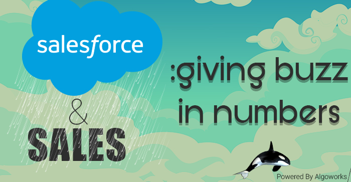 Salesforce: Giving Buzz In Numbers | An Infographic