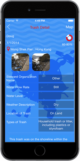 cleanospecto trash reporting app for android