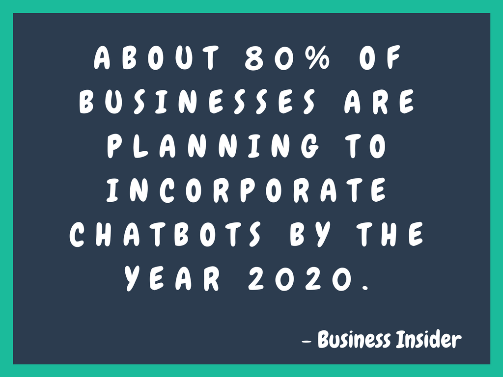 Chatbot trends 2018