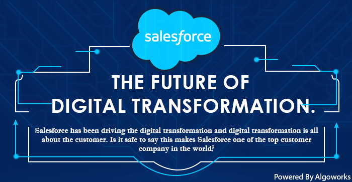 Salesforce – The Future of Digital Transformation | An Infographic