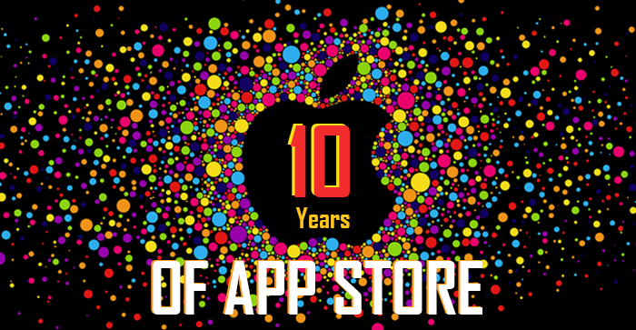 A Majestic Decade of App Store | An Infographic